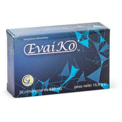 EvaiKo 30 - Integratore Alimentare di Glucosamina, Garcinia Mangostana e Artiglio del Diavolo