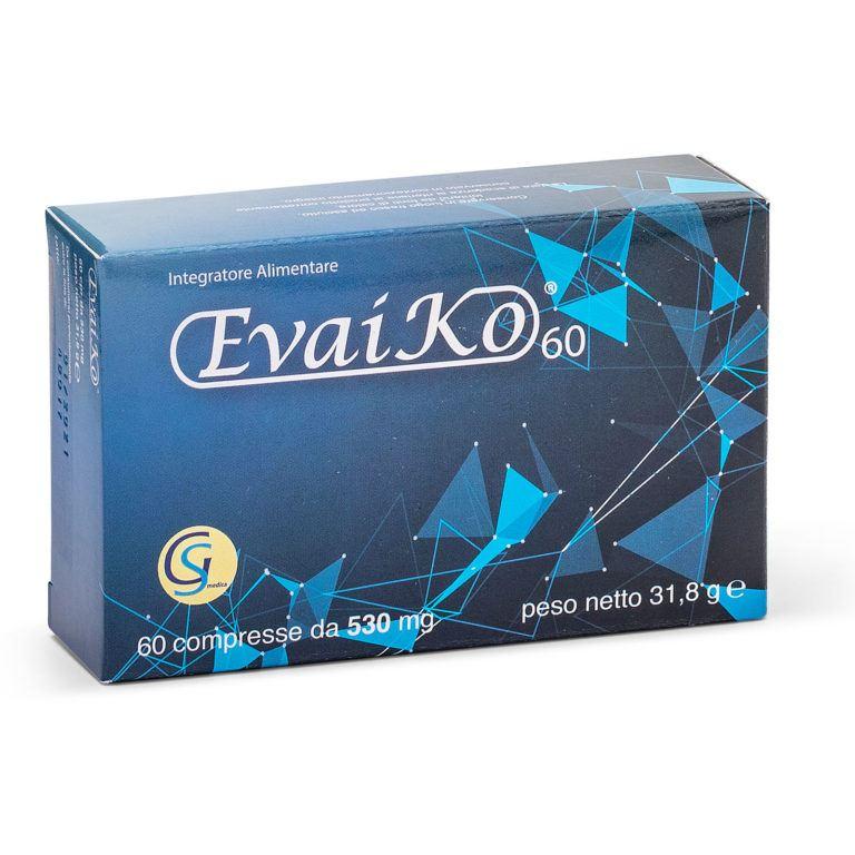EvaiKo 60 - Integratore Alimentare di Glucosamina, Garcinia Mangostana e Artiglio del Diavolo